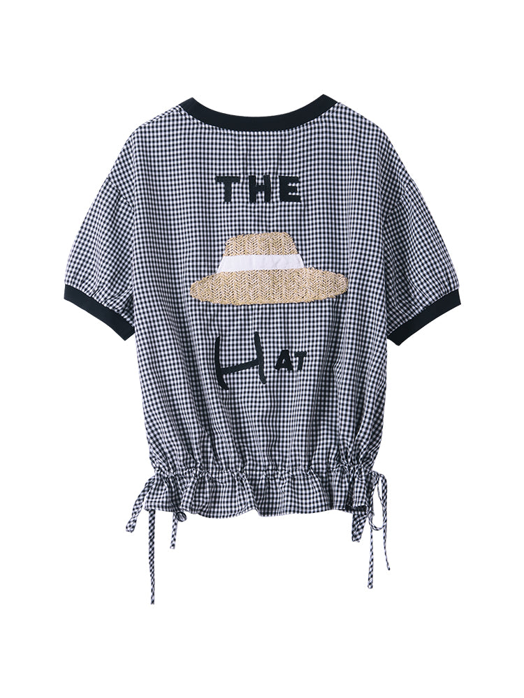 A24J Straw Hat Design Top