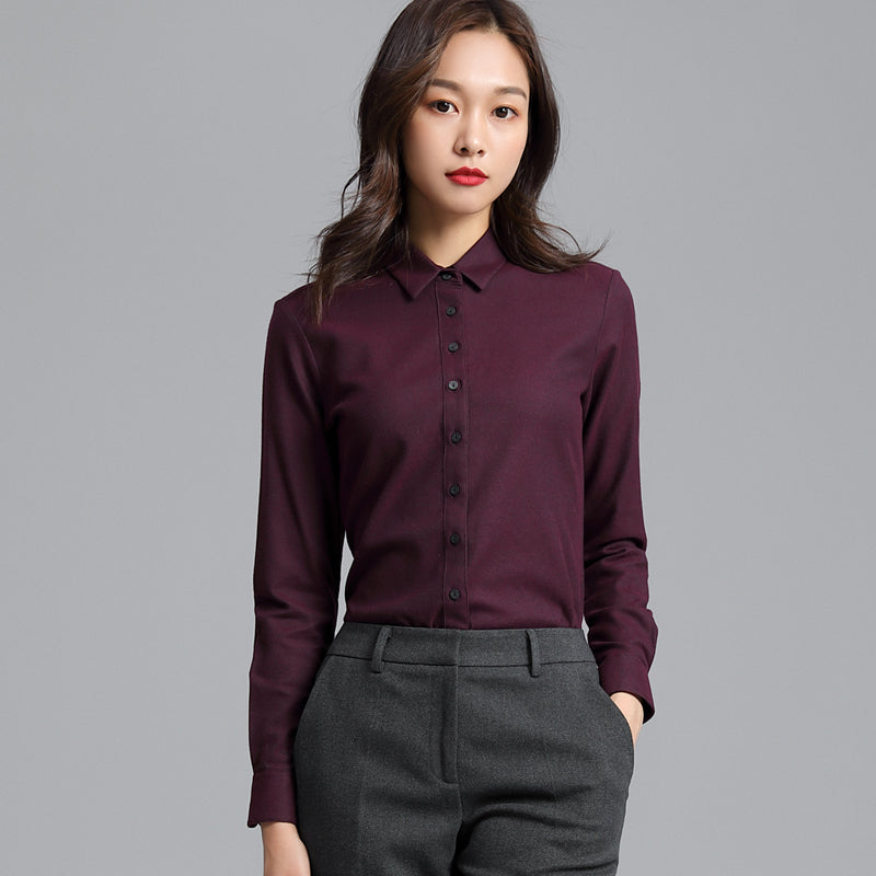 A15K Silk-colored Fleece Shirt