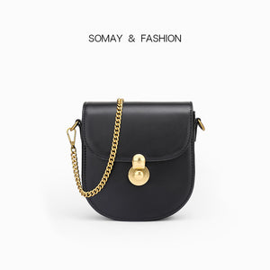 Horizontal Square Small Saddle Bag