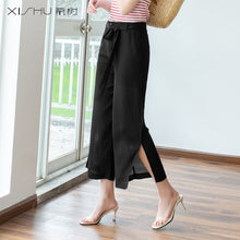 Ankle Slit Capris Pants-Bottoms-[korean fashion]-[korean clothing]-[korean style]-SOO・JIN