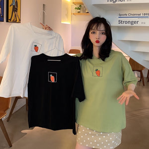 A38R Carrot Printed New Style T-Shirt