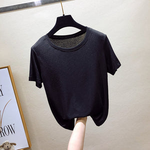Round Neck Bottoming T-Shirt
