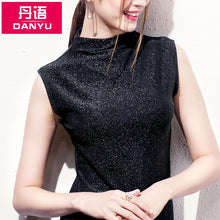 Short Collar Sleeveless Top-Blouses & Shirts-[korean fashion]-[korean clothing]-[korean style]-SOO・JIN
