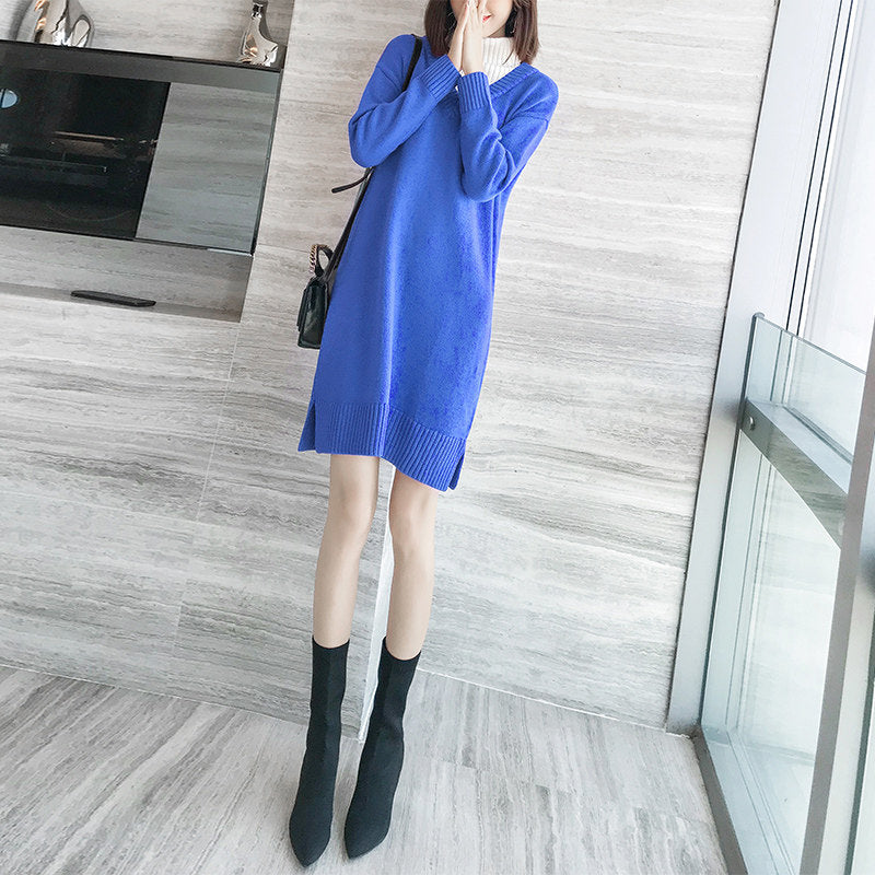 Flexible Thick Soft Long Pullover