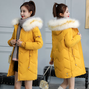 A10R Loose Long Padded Coat