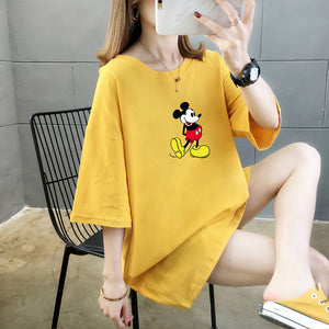 A36O Mickey Mouse Anime Cute T-shirt