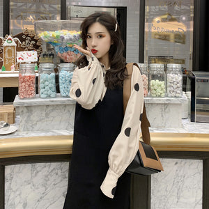 A17Z Two-Set Set Loose Sleeve Dress