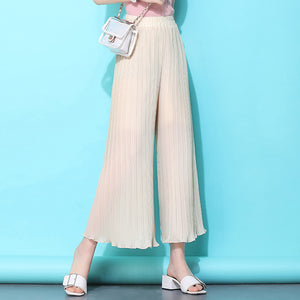 Easy Look Pant Skirt-Bottoms-[korean fashion]-[korean clothing]-[korean style]-SOO・JIN