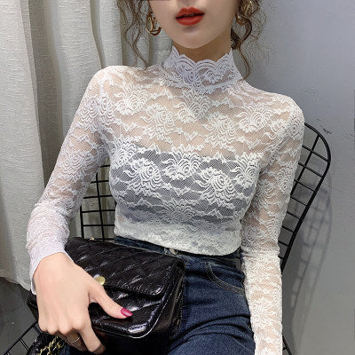 Slim Lace All over Top
