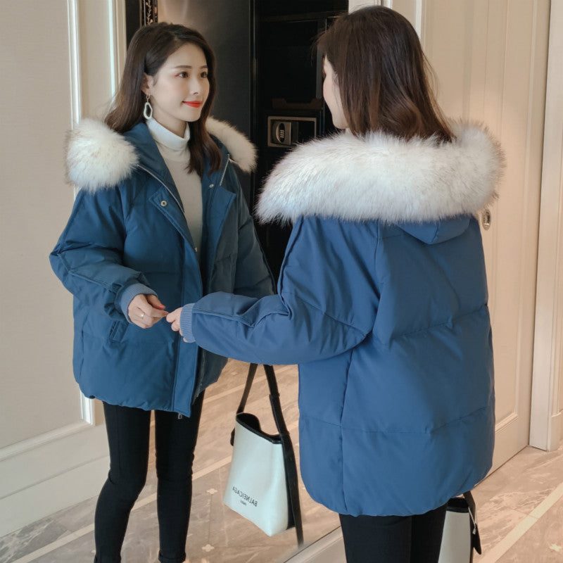 A10V Fur Collar Cotton jacket