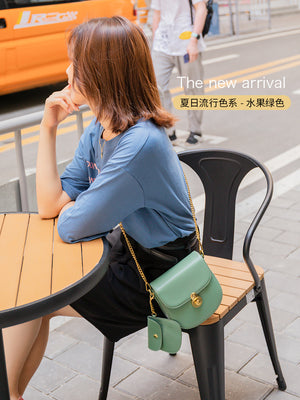 A32O Horizontal Square Small Saddle Bag