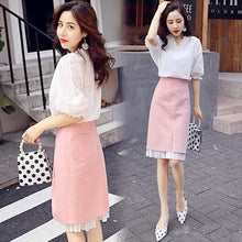 Tops & Tube Skirt Combo-Bottoms-[korean fashion]-[korean clothing]-[korean style]-SOO・JIN
