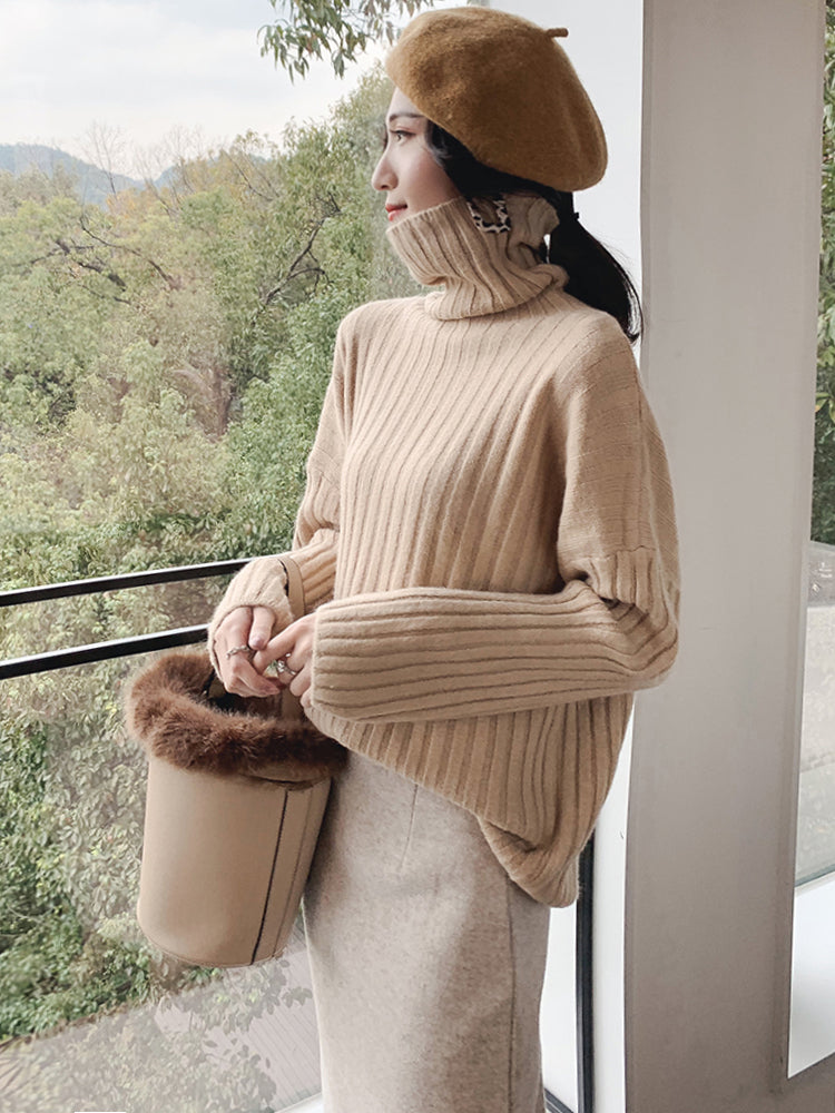 A28X High Turtleneck Bottoming Sweater