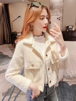 Soft Fur Collar/Wrist Jacket