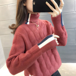 A23H High Double Collar Thick Sweater Winter 2020