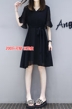 PLUS SIZE Black Dress - korean clothing and fashion