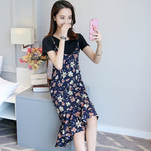 T-Shirt & Cami Dress Combo - korean clothing and fashion
