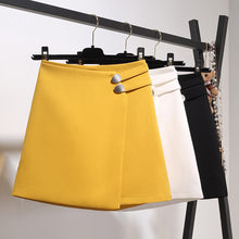 Side Buckle Mini Skirt-Bottoms-[korean fashion]-[korean clothing]-[korean style]-SOO・JIN