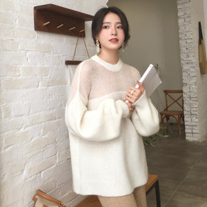 Extra Thick Wool Pull-Over - korean clothing and fashion
