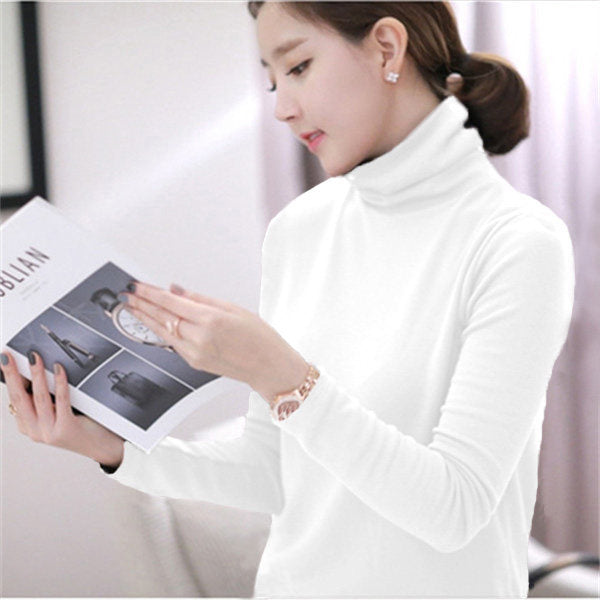 Basics Turtleneck Top-Sweater-[korean fashion]-[korean clothing]-[korean style]-SOO・JIN