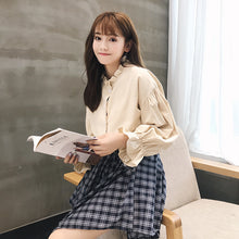 Bell Sleeve Fashion Shirt-Blouses & Shirts-[korean fashion]-[korean clothing]-[korean style]-SOO・JIN