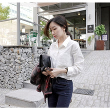 Everyday Anytime Collar Shirt-Blouses & Shirts-[korean fashion]-[korean clothing]-[korean style]-SOO・JIN