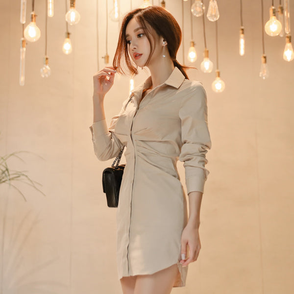 Coat Style Bodycon Dress