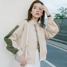Sleeve Stripes Jacket - korean clothing and fashion