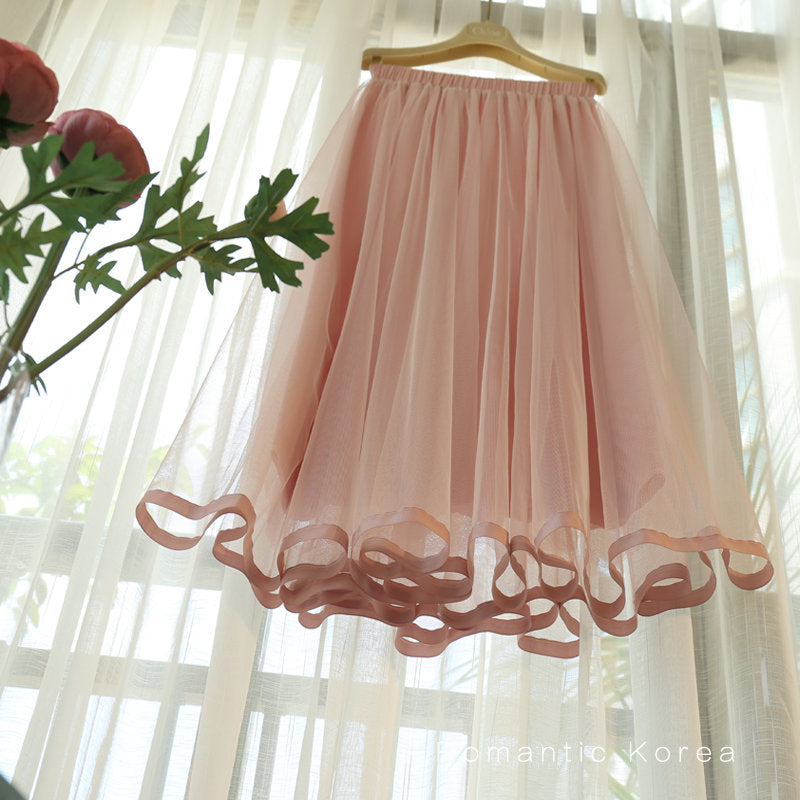 A21F Half-length Fairy Skirt
