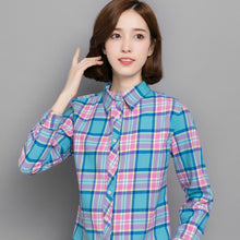 Padded Plaid Shirt Jacket-Blouses & Shirts-[korean fashion]-[korean clothing]-[korean style]-SOO・JIN