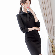Bow-Tie Bodycon Dress-Dresses-[korean fashion]-[korean clothing]-[korean style]-SOO・JIN