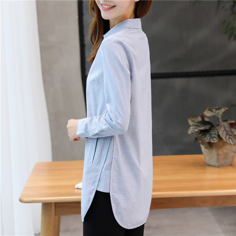 Classic Anytime Shirt-Blouses & Shirts-[korean fashion]-[korean clothing]-[korean style]-SOO・JIN