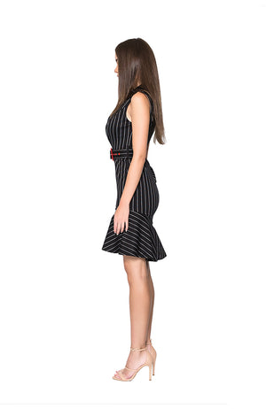 BAISI Seasonal Dress - Black