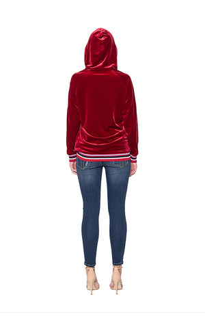 BAISI Hoodie - Red