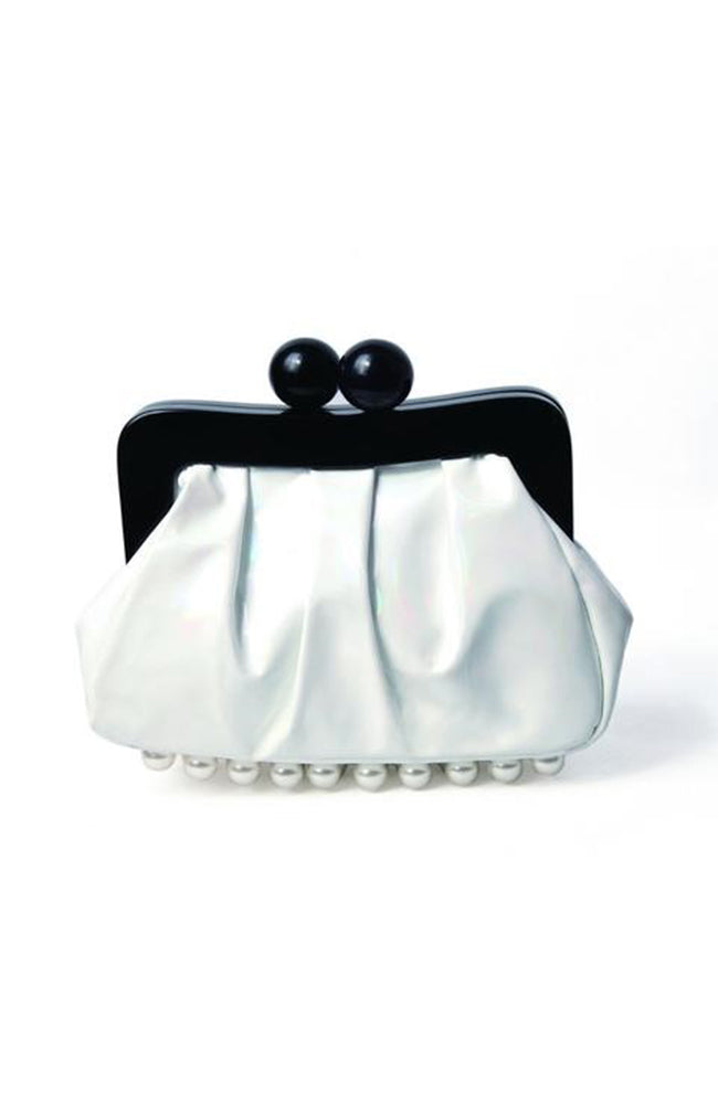 AMY Clutch - White