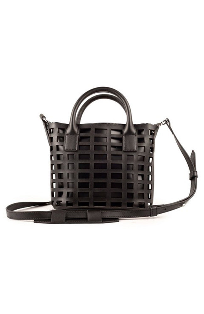 CECILY Mini Satchel - Black