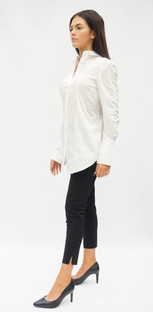 DRAWSTRING BACK SHIRT