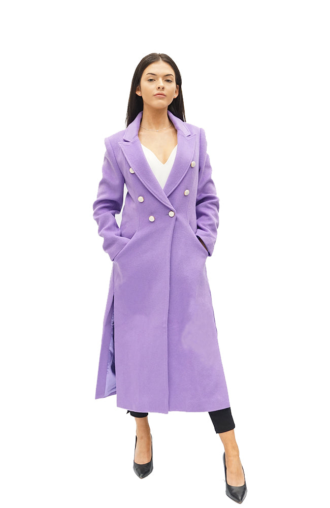 OVERCOAT - PURPLE