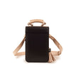 NINA Crossbody Bag - Black & Nude