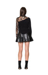 Black Sheep Leather Skirt