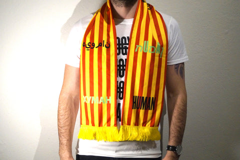 HUMAN Scarf (Yellow/Red)
