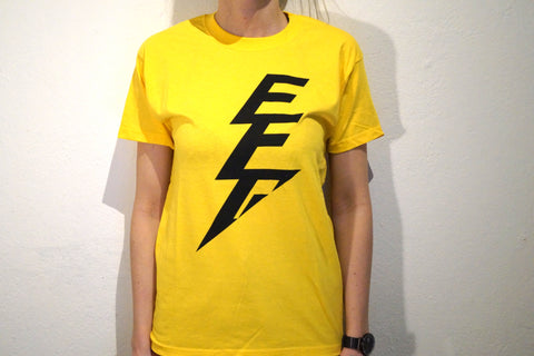 Electric Feel Good Yellow T-shirt