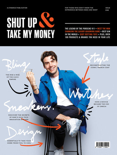 Shut Up & Take My Money Magazine (First Edition)