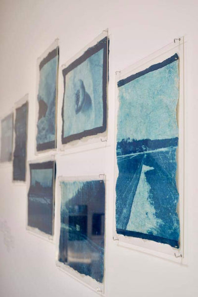 mika horie cyanotype photography japan washi japanese paper