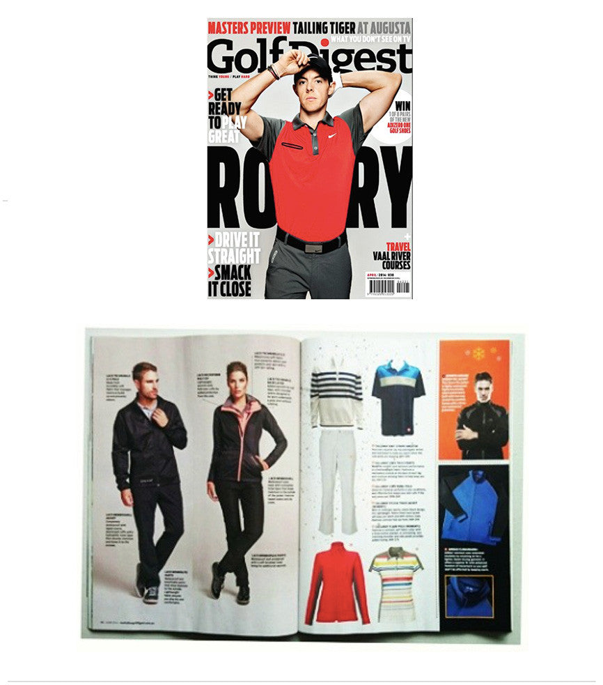 LACD Winter Line in Golf Digest