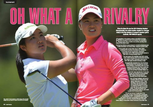 LACD: Powering Minjee Lee's Performance in Golf Victoria Magazine!