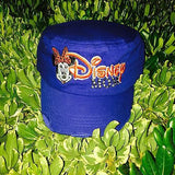 Disney Mom Minnie Fidel Hat with Rhinestones Adjustable Red White and Blue