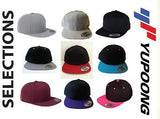5 Custom Embroidery Snapbacks Your color Choice Your design