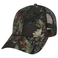 Camo Adjustable Mesh Back Trucker Baseball Cap Custom Embroidery Hats