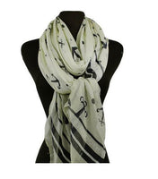 Custom Nauticial Anchors Scarf, Wrap, Shawl, Coverup, Sarong, Nautical Scarves